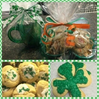 St. Patrick's Day Cookie Assortment