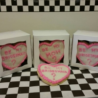 Valentines Wedding Cookies