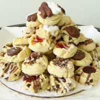 Assorted Cookie Tower