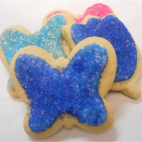 Seasonally Decorated Sugar Cookies