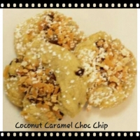Coconut Caramel Chocolate Chip