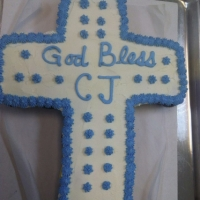 Communion Confirmation Baptism Cupcake Cake
