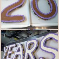 20 Years Cupcake Cake