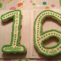 16th Birthday Cupcake Cake