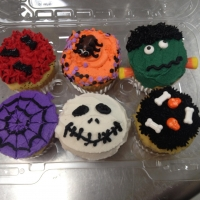 Halloween Critters Cupcakes