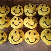 Smile Face Cupcakes