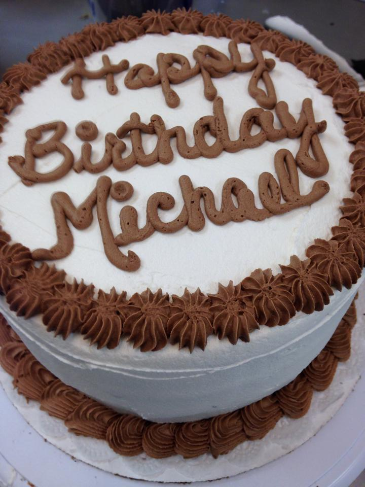 Birthday Cake Images Michael : Gourmet Cookie Shoppe Aunt Mias Sweets Gourmet Bakery ...