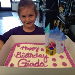 Happy Birthday Giada Chocolate Chip Cookie Cake