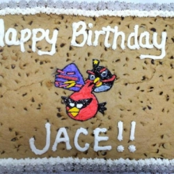 Happy Birthday Jace Chocolate Chip Cookie Cake