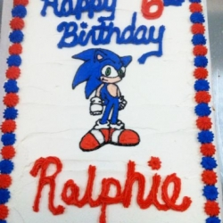 Happy Birthday Ralphie Angry Birds Chocolate Chip Cookie Cake