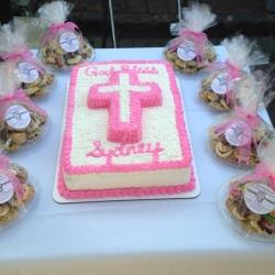 Half Sheet Cake Christening