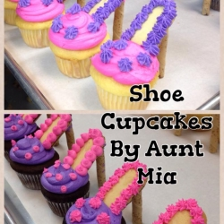 High Fashion Shoe Cupcakes