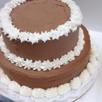1411 8 Inch Round Cake 2 Layer