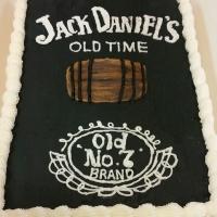 1547 Jack Daniels Sheet Cake