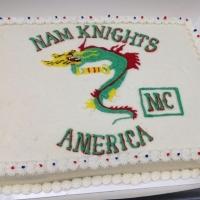 1548 Nam Knights Sheet Cake