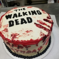 16089 The Walking Dead Happy Birthday Cake View 2