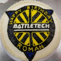 16053 Happy Birthday Roman Sheet Cake