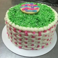 16011 Easter Basket Cake