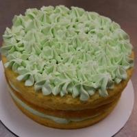 16034 Pistachio Round Cake