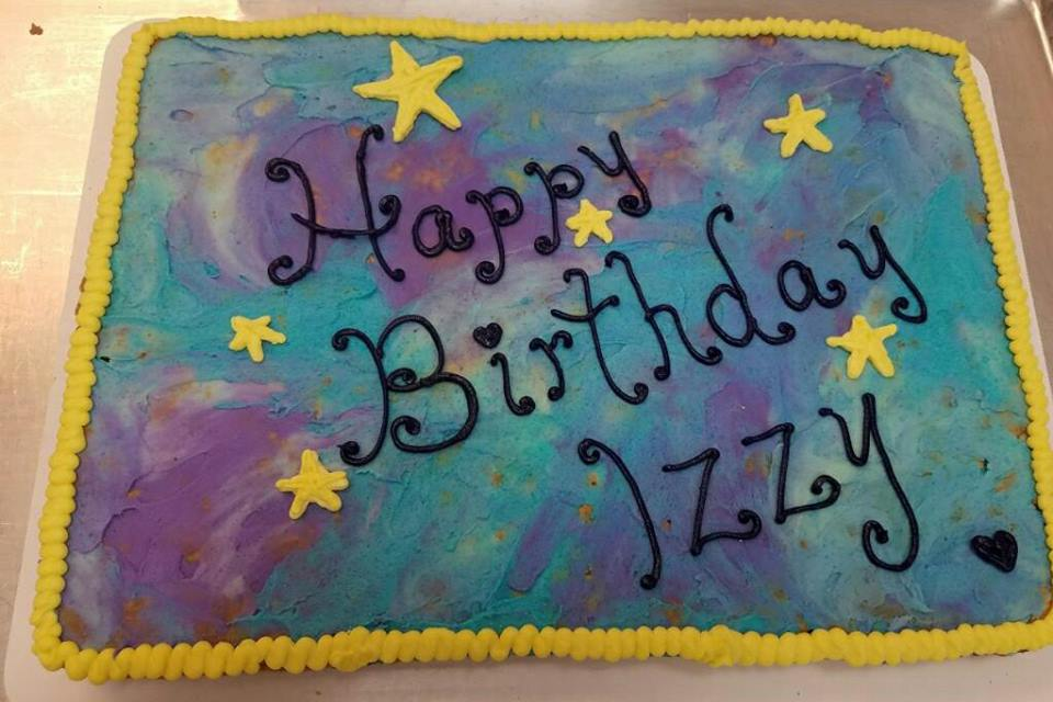 Happy Birthday Izzy Cake