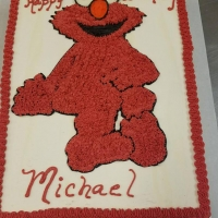 17060 Happy Birthday Michael Elmo Sheet Cake