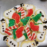 16007 Holiday Decorated Cookies