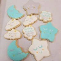 17011 Twinkle Twinkle Little Star Cookies