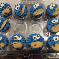 16006 Cookie Monster Cupcakes