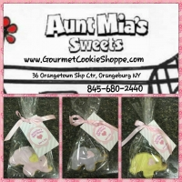 Elephant Cookies Baby Shower Favors