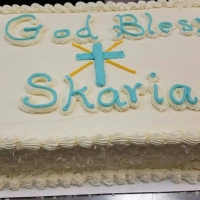 God Bless Skaria Coconut Sheet Cake