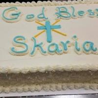God Bless Skaria Coconut Sheet Cake